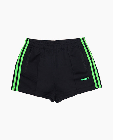 [여성용] NY Track Shorts Black / Green