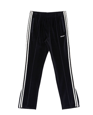 [LIMITED] Velour Track Pants Navy