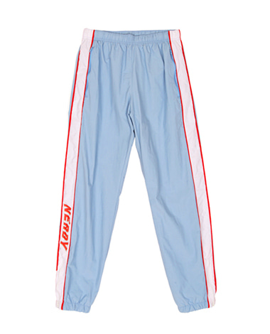 Line Windbreak Track Pants Sky Blue
