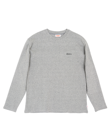 NY B-B Long Sleeve Grey