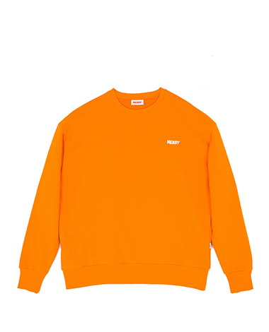 NY Sweat Shirt Orange
