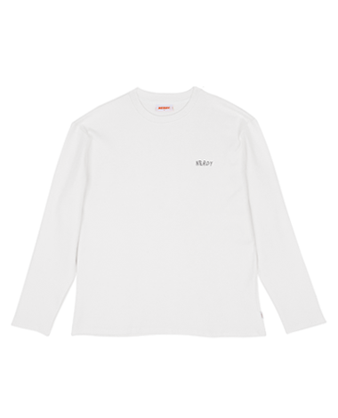 NY B-B Long Sleeve White