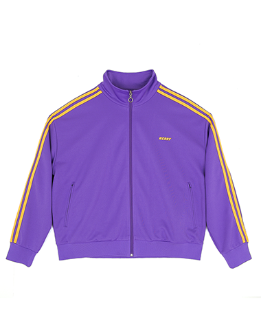NY Track Top Purple / Yellow