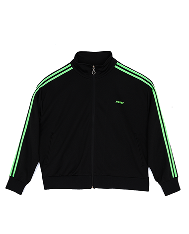 [LIMITED] NY Track Top Black / Green