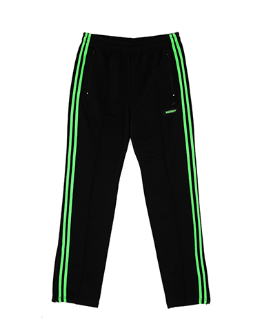 NY Track Pants Black / Green
