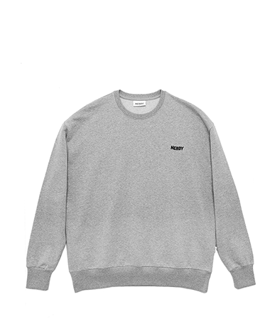 NY B-B Sweat Shirt Grey