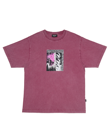 Grainy ½ T-shirts Purple