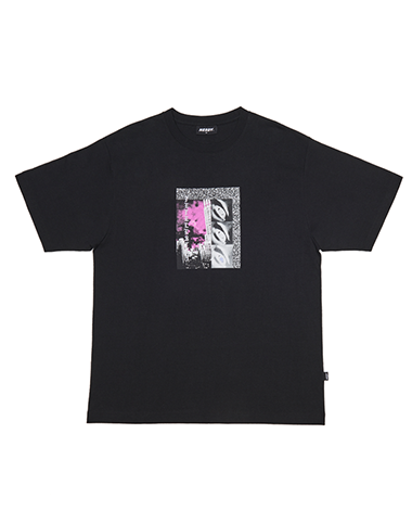 Grainy ½ T-shirts Black