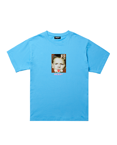 Face Time T-shirt Blue
