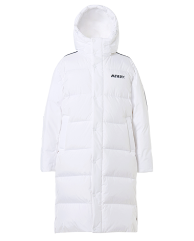 [3차 EARLY BIRD] NY Track Long Down Jacket White