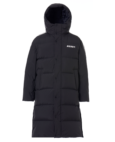 [3차 EARLY BIRD] NY Track Long Down Jacket Black