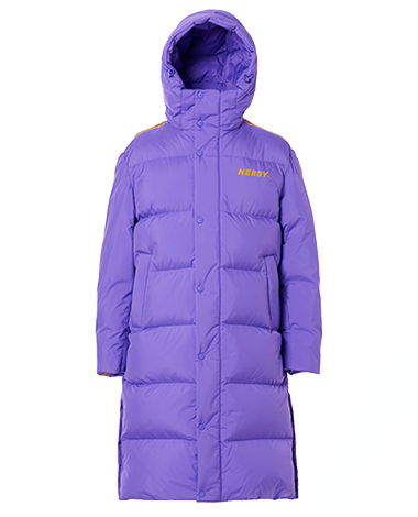 [3차 EARLY BIRD] NY Track Long Down Jacket Purple