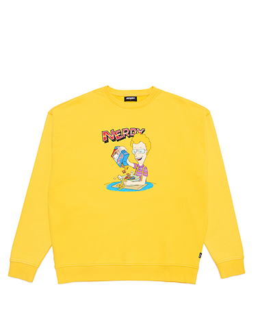Cereal Sweatshirt Yellow