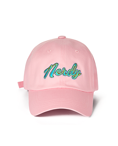 Washed Multi Color Embroidery Ball Cap Pink