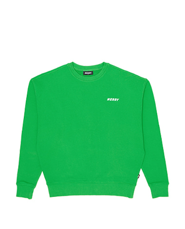 Basic Logo Sweatshirt Green