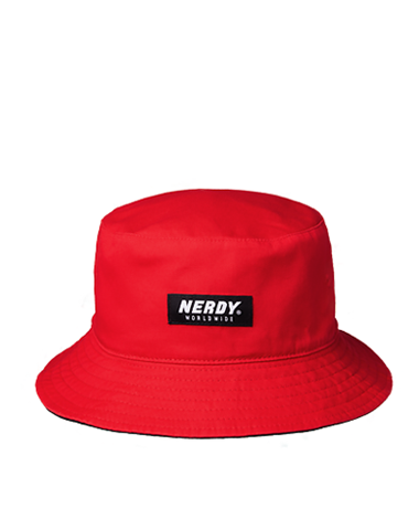 Reversible Bucket Hat Red