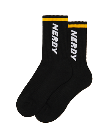 Basic Logo Socks_Black