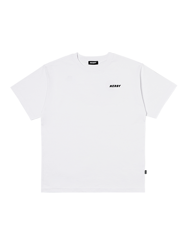 Wave 1/2 Sleeve T-shirt White