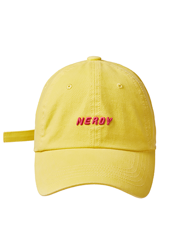 Washed Essential Ball Cap Yellow