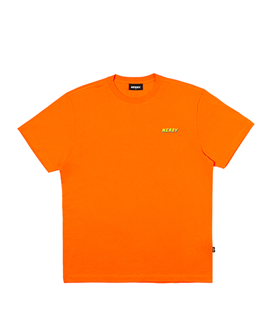Graphic 1/2 Sleeve T-shirt Orange