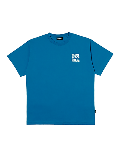 [사전예약] Beach Boy 1/2 Sleeve T-shirt Turquoise