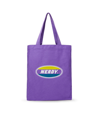 Oval Logo Eco Bag Purple