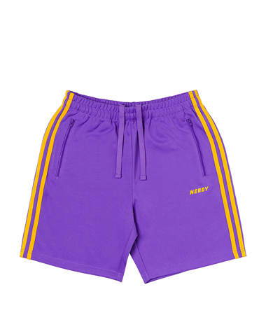 NY Track Half Pants Purple
