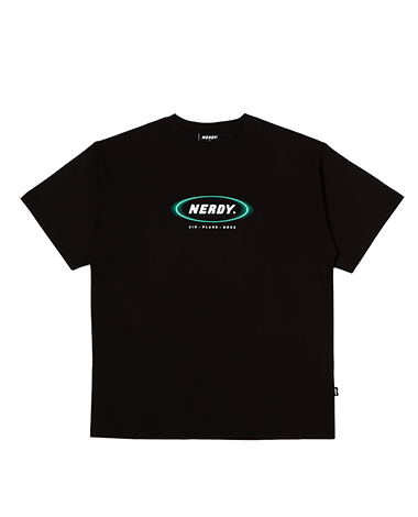 [사전예약] Blurred Logo 1/2 Sleeve T-shirt Black