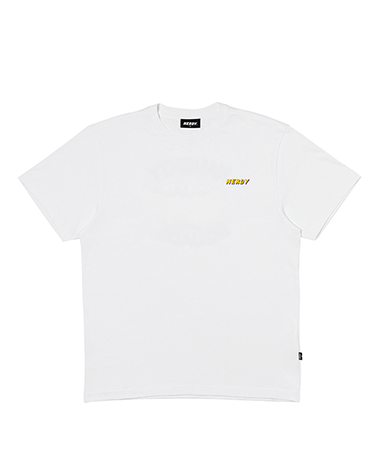Graphic 1/2 Sleeve T-shirt White