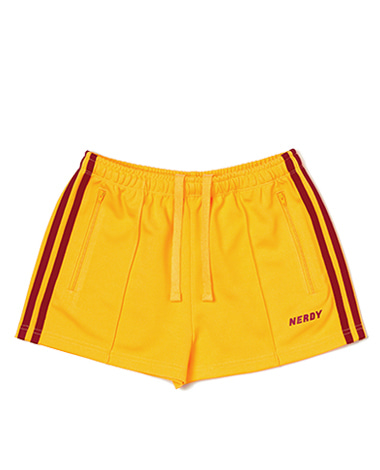 Women's NY Track Shorts Yellow