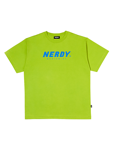 Basic Big  Logo 1/2 Sleeve T-shirt Lime