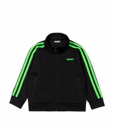 Kids' NY Track Top Black