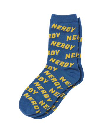Logo Graphic Socks_Blue