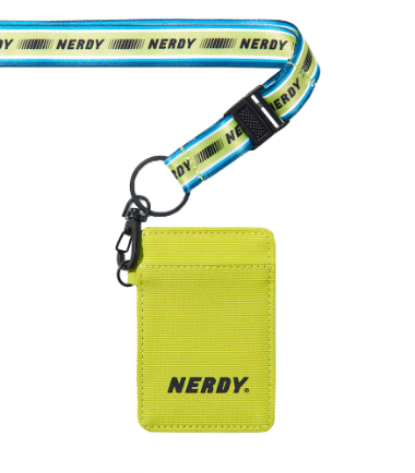 Lanyard Card Wallet Lime