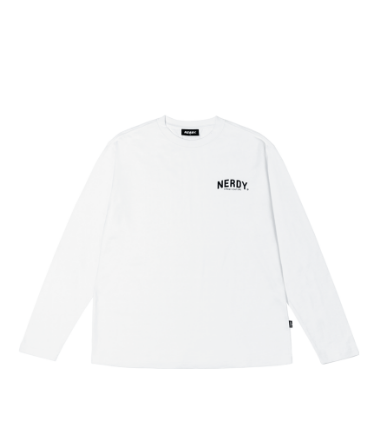 Arch Logo Long Sleeve T-shirt White