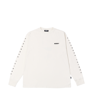 Balloon Long Sleeve T-shirt Cream