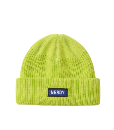 Basic Embo Beanie Lime