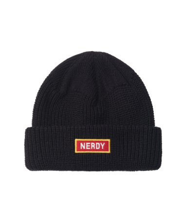 Basic Embo Beanie Black