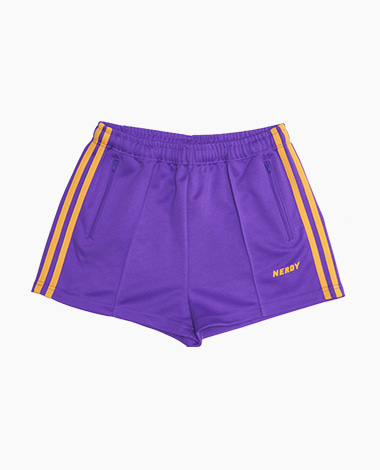 [여성용] NY Track Shorts Purple / Yellow
