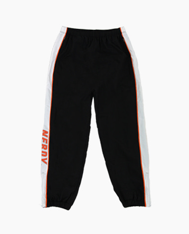 Line Windbreak Track Pants Black