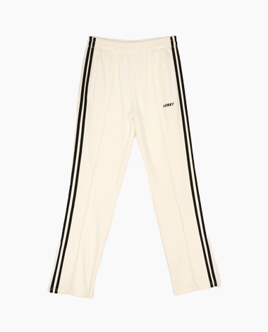 [T-Shirt 증정] Velour Track Pants White