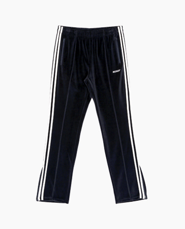 [T-Shirt 증정] Velour Track Pants Navy